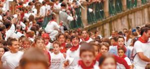 'El baile de los Infantes' narra cómo viven las fiestas de San Fermín los niños pamploneses.