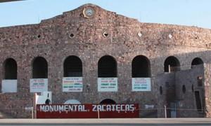 La plaza de toros de Zacatecas, donde el caballero navarro tenía que haber terminado su temporada mexicana.