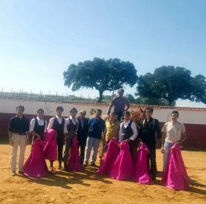 Todos los participantes en el tentadero de Pinto Barreiros.