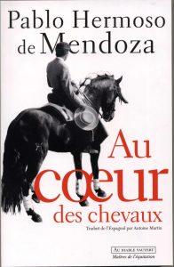 Portada del libro 'Au coeur des chevaux'.