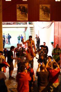 El mexicano Adame se presentó en Pamplona y salió por la puerta grande. Fotografías: Enfoque Tuarino.