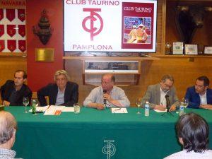 De izda. a dcha., Patxi Arrizabalaga, Joseba Santamaría, Juan Ignacio Ganuza, Fernando de Benito y Alfredo González.