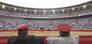 La plaza de toros de Barcelona en uno de los últimos festejos que ofreció.