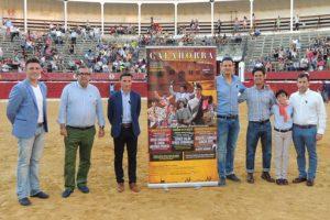 Un momento de la presentación de la Feria de Calahorra. Fotografía: Tauroemoción.
