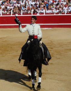 Roberto Armendáriz buscará un nuevo triunfo en la plaza de Sangüesa.