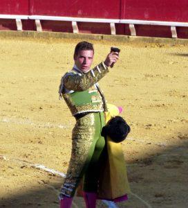 Miguel Ángel León. Oreja