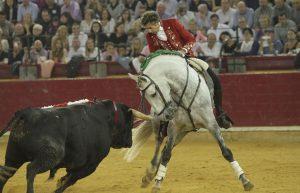 En la plaza de Zaragoza, el caballo 'Donatelli' volvió a brillar.