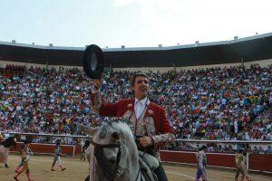Hace casi dos años, Pablo Hermoso de Mendoza llenó la plaza colombiana de Cali.