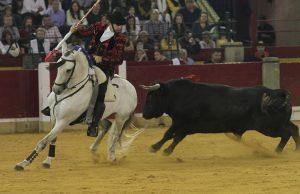Pie de foto: Al igual que hoy, Hermoso de Mendoza cerró el pasado su temporada en la capital maña.