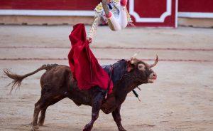 El sevillano Javier Jiménez recordó la espeluznante voltereta que sufrió en Pamplona el pasado 8 de julio.