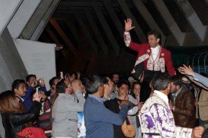 El caballero salió a hombros el año pasado en la Plaza México, escenario en el que buscará hoy un nuevo triunfo.