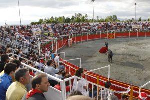 Los festivales taurinos de Noain siempre han tenido muy buena acogida del público.