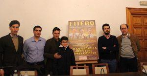 La presentación de la Feria de San Raimundo de Fitero contó con la presencia de los diestros Diego Urdiales y Tomás Campos.