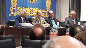 De izda. a dcha., Sebastián Palomo Linares, Antonio Purroy, Adolfo Martín y Borja Domecq.