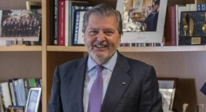 Méndez de Vigo, ministro de Cultura.