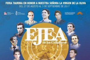 Cartel anunciador de la Feria de Ejea de los Caballeros.