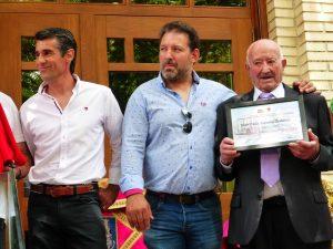 Francisco Marco, Gustavo Alegría y Valerio Ordóñez.