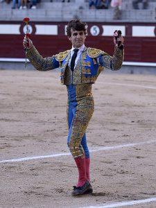 Javier Marín ya ha toreado dos tardes en Las Ventas y ha cortado una oreja.