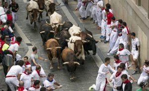 Los toros han galopado en manada por Santo Domingo.