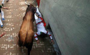 Huracán entra en la plaza de toros