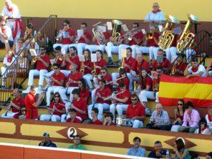 La banda municipal, una de las mejores de Navarra, volverá a sonar en la plaza de toros de Lodosa.