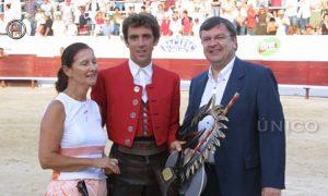 Hermoso de Mendoza ha obtenido el Rejón de Oro en cinco ocasiones: 2002, 2005, 2009, 2015 y 2017. Fotografía: pablohermoso.net