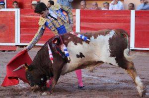 Toñete toreó en abril en México, en la plaza de Aguascalientes.