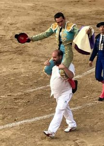 Joselillo protagonizó en Sangüesa una tarde triunfal.