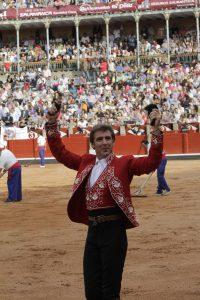 Dos orejas. Salamanca. 21-IX-2017