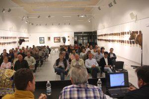 El público llenó el aforo en la sesión del viernes pasado.