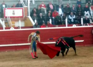 Javier Marín pase de pecho