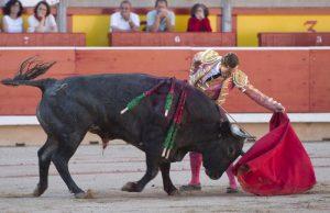 Natural de Rafaelillo a 'Aguilero' el pasado 14 de julio en Pamplona.