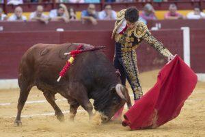 Natural largo de Toñete ayer en Murcia. Fotografía: Templaíto.