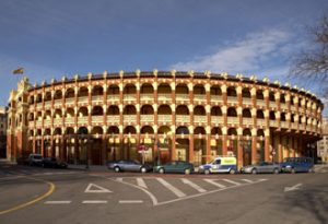 Plaza de toros de Zaragoza.