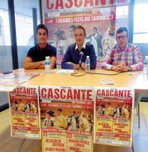 De izda. a dcha., Jesús Arruga, Mario García y Manuel Romeo. Fotografía: Rafael Villafranca.