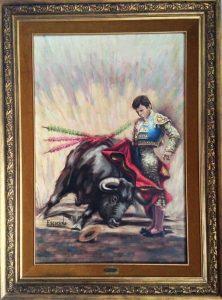 Imagen de la pintura puesta en venta.