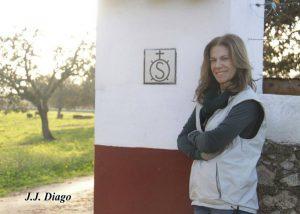 Aurora Algarra en su finca sevillana La Capitana. Fotografía: J. J. Diago.