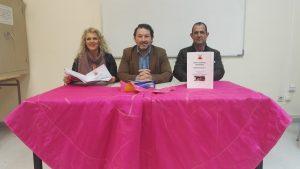 La directiva durante la junta general, con el presidente, Gustavo Alegría, en el centro de la imagen.