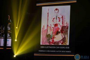 El cartel de San Isidro es un homenaje a Iván Fandiño. Fotografía: Plaza1.