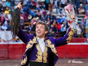 Hermoso cortó en Panabá el octavo rabo de su campaña mxicana. Fotografía: S. Hidalgo.