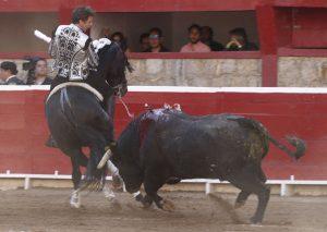El caballo 'Berlín' ofreció otra lección de poderío en la Monumental de Morelia.