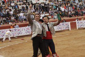 Hermoso cortó una oreja en Pachuca, la número 70 y última de su campaña mexicana.