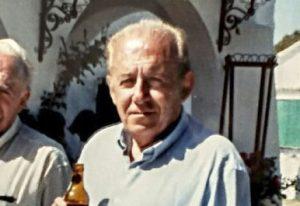 El ganadero de bravo Eugenio Frías.