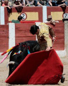 Natural de Toñete, ayer en Talavera de la Reina.