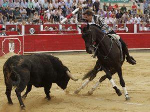 Berlín volvió a ser en Albacete unos de los caballos más destacados.