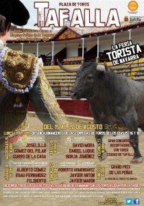 El cartel anunciador de la Feria de Tafalla.