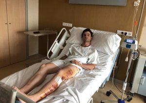 Toñete permanece ingresado en el hospital madrileño La Luz.