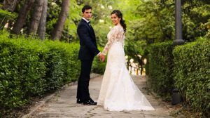 Javier Antón y Silvia Prieto contrajeon matrimonio el sábado pasado.