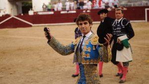 El navarro Javier Marín intentará volver a triunfar en la plaza de Estella.
