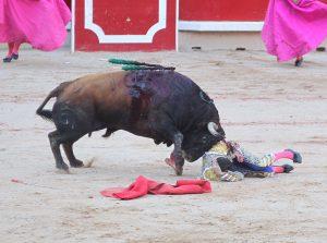 El sexto le pegó un palizón a López Simón.